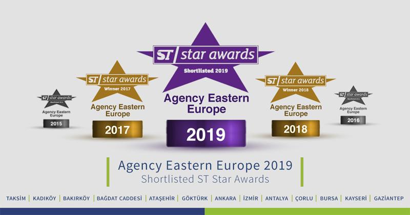 2019 Study Travel Magazine Ödüllerine Aday Gösterildik